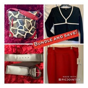 Red and Black bundle!  Save $15!